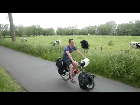 France-Norvège à vélo, 1ere semaine (France, Belgique et Pays-Bas)
