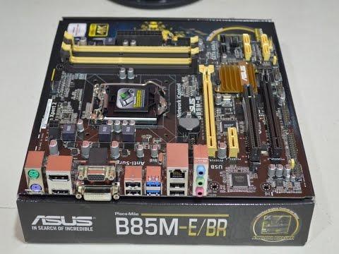 [REVIEW] - Placa-Mãe ASUS B85M-E BR LGA1150