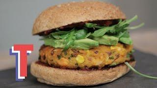 Sweet Potato Burger | Good Food Good Times S2e2/8