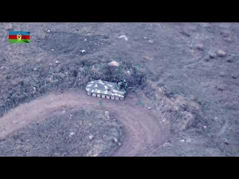Азербайджан продолжает атаковать Армянские вооруженные силы в Нагорном Карабахе