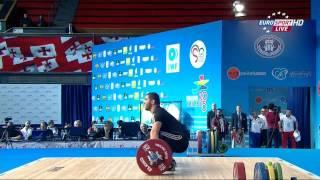 Тяжелая атлетика. Чемпионат Европы 2015 г. Мужчины до 105 кг.
