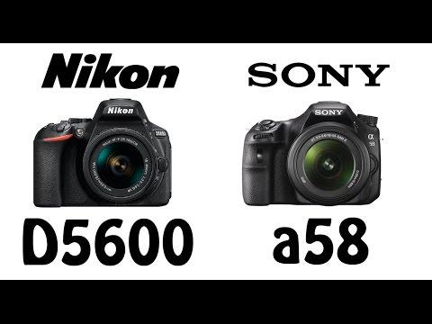 Nikon D5600 vs