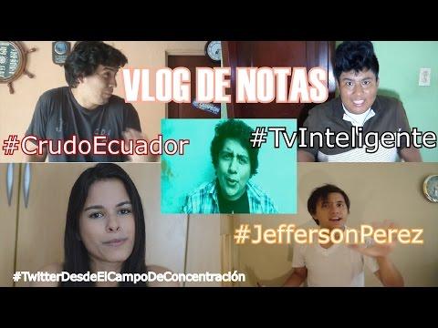 Rafael Correa Vs Crudo Ecuador | TV con PS3 | Twitter en campos de concentración | Jefferson Pérez
