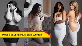 Most beautiful plus size women | cute fat women you must fall in love !!