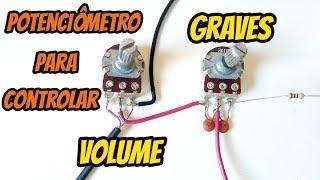 Controle para volume e graves - Amplificador caseiro simples screenshot 5