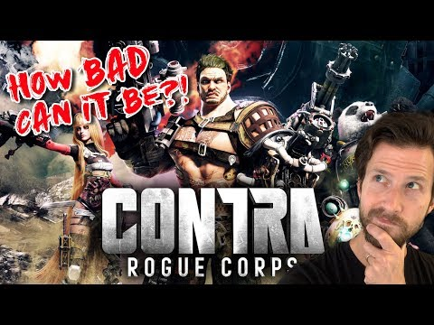 Contra Rogue Corps - How Bad Can It Be?!