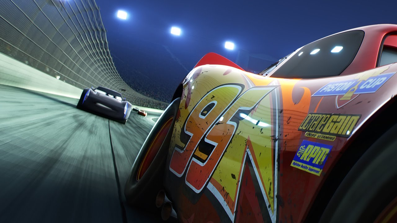 cars 3 teaser trailer lightning mcqueen crashes on the race track