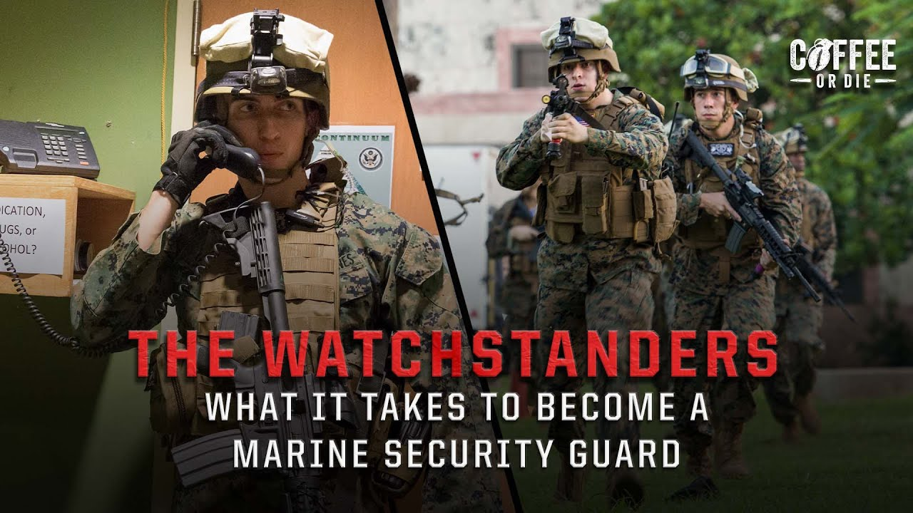 Watchstanders: The Marine Security Guards Entrusted With Guarding America's Embassies