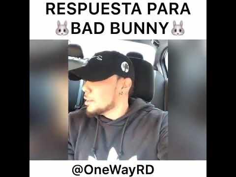 Te vote bad Bunny (respuesta) parodia