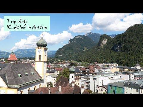 Trip Vlog: Kufstein in Austria オーストリアのとっても可愛い町に行ってみた🎶