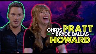 Chris Pratt, Bryce Dallas Howard y su regreso a Jurassic World