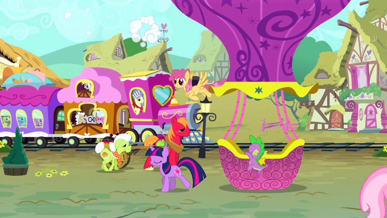 Dessin animé my little pony