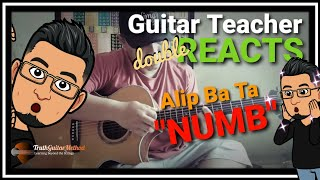 """Download Alip Ba Ta - DOUBLE REACTION: """"Numb"""" by Linkin Park"""