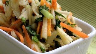 Морковь и яблоко Полезные продукты для здоровья глаз