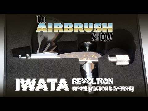 IWATA REVOLUTION HP-M2 ROADTEST - THE AIRBRUSH SHOW EP02