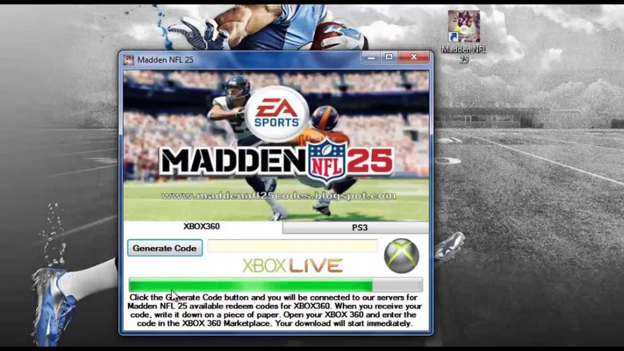 <b>Madden</b> NFL 25 Redeem <b>codes</b> ps3/xbox360 - YouTube