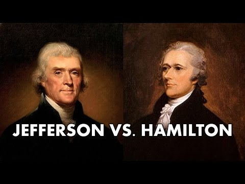 Thomas Jefferson Vs Alexander Hamilton (AP US History - APUSH Review)