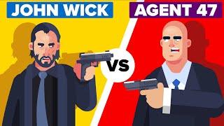 JOHN WICK vs AGENT 47 - Who Would Win?