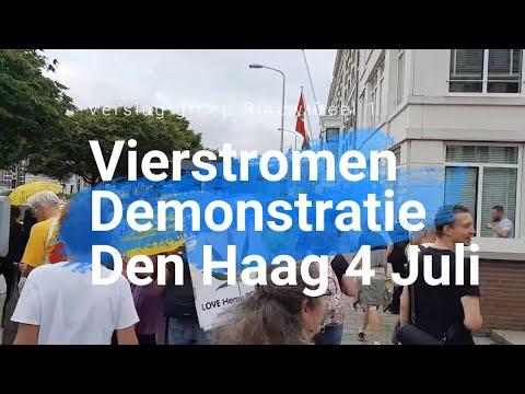 Den Haag 4 Juli - Vierstromen Demo Verslag Deel 1