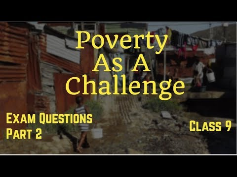 poverty questions and answers