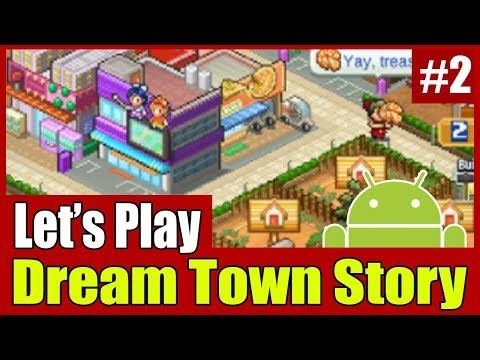 [Gameplay] Kairosoft Dream Town Story #2 | Expand Town Area