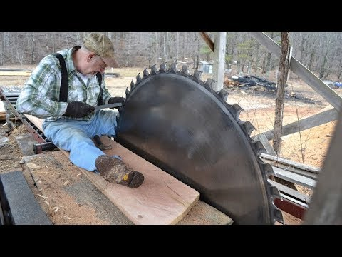Amazing Fastest Large Wood Sawmill Machines Working - Wood Cutting Machine Modern Technology #2