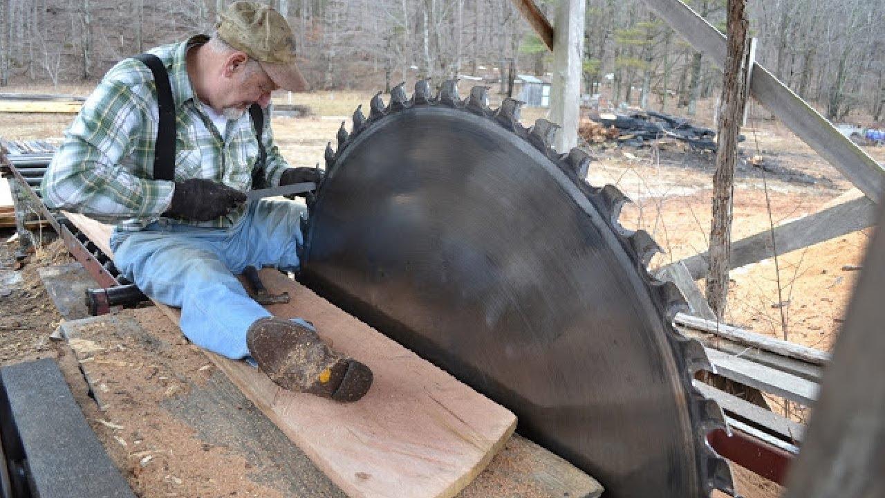 Amazing Fastest Large Wood Sawmill Machines Working