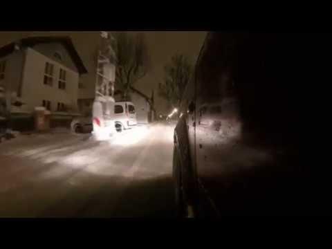 Audi A2 - Münchner Nacht im Schnee