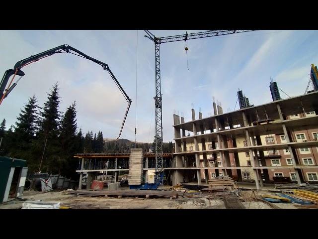 Фото з будівельного майданчика Le Meandre. Хід будівництва на початок грудня 2020