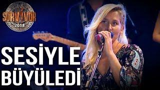 Sema Aydemir 'Aşk Laftan Anlamaz Ki' şarkısıyla sahnede... | 70. Bölüm | Survivor 2018