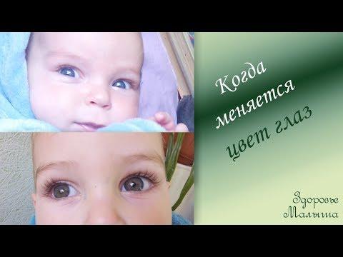 Как понять какой цвет глаз у новорожденного