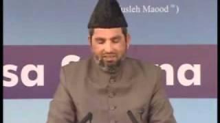 Ahmadiyya : Meaning of Qaseeda Jalsa Qadian 2009 Day 1 Afternoon