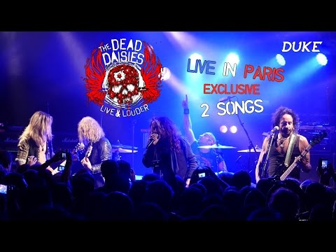 The Dead Daisies - Live, Paris 2016 (Make Some Noise - Song and a Prayer) - Duke TV