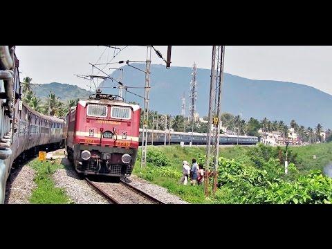 SECUNDARABAD to BHUBANESHWAR : Train Journey Highlights (Indian Railways)
