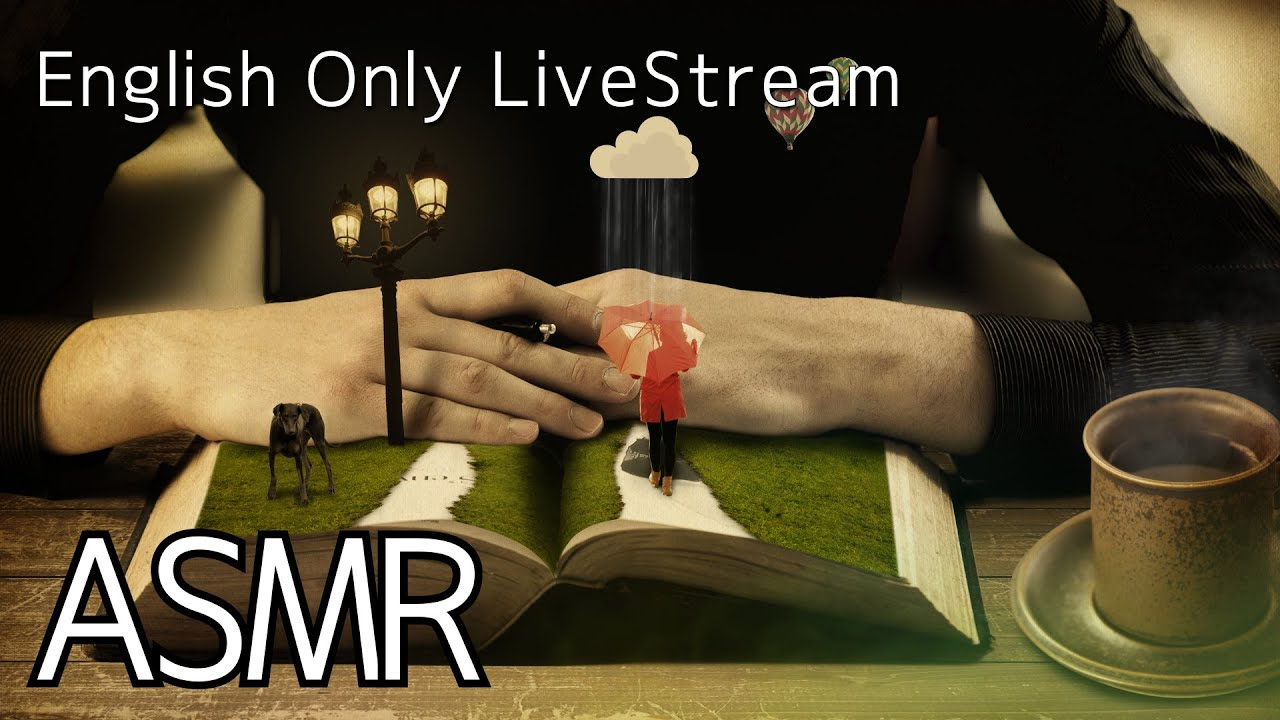 ASMR Live 🎧Relaxing Sounds(English)