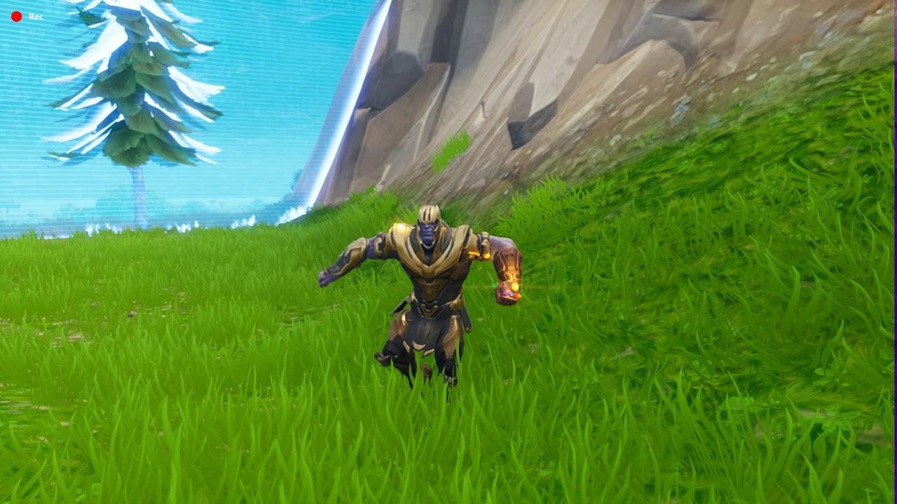 Thanos After A Fortnite Win Dab Popcorn Best Mates Orange