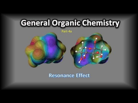 General Organic Chemistry Part-4a-Resonance Effect Video Tutorial by C.V. Kalyan Kumar