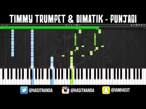 Timmy Trumpet & Dimatik - Punjabi (TUTORIAL)