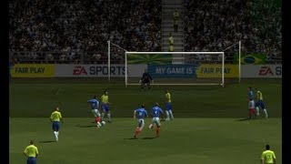 Fifa 2004 Gameplay France-Brésil