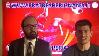 Interviste post partita Fratres Perignano - Atletico Etruria