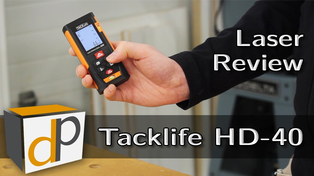Tacklife Entfernungsmesser Opinie : Tacklife hd 40 laser measure review youtube
