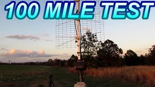 The All In One TV Antenna 100 mile Test
