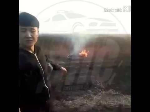 Гражданин Китая поджигал траву в Приморье