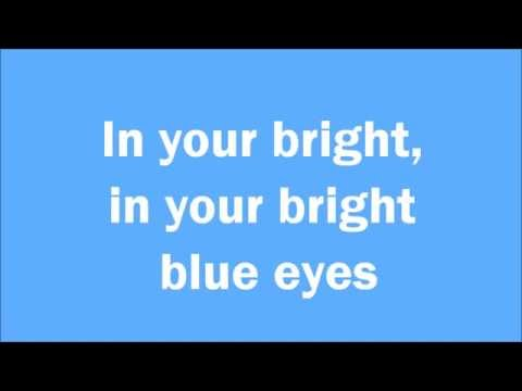 Nina Nesbitt - Bright Blue Eyes LYRICS