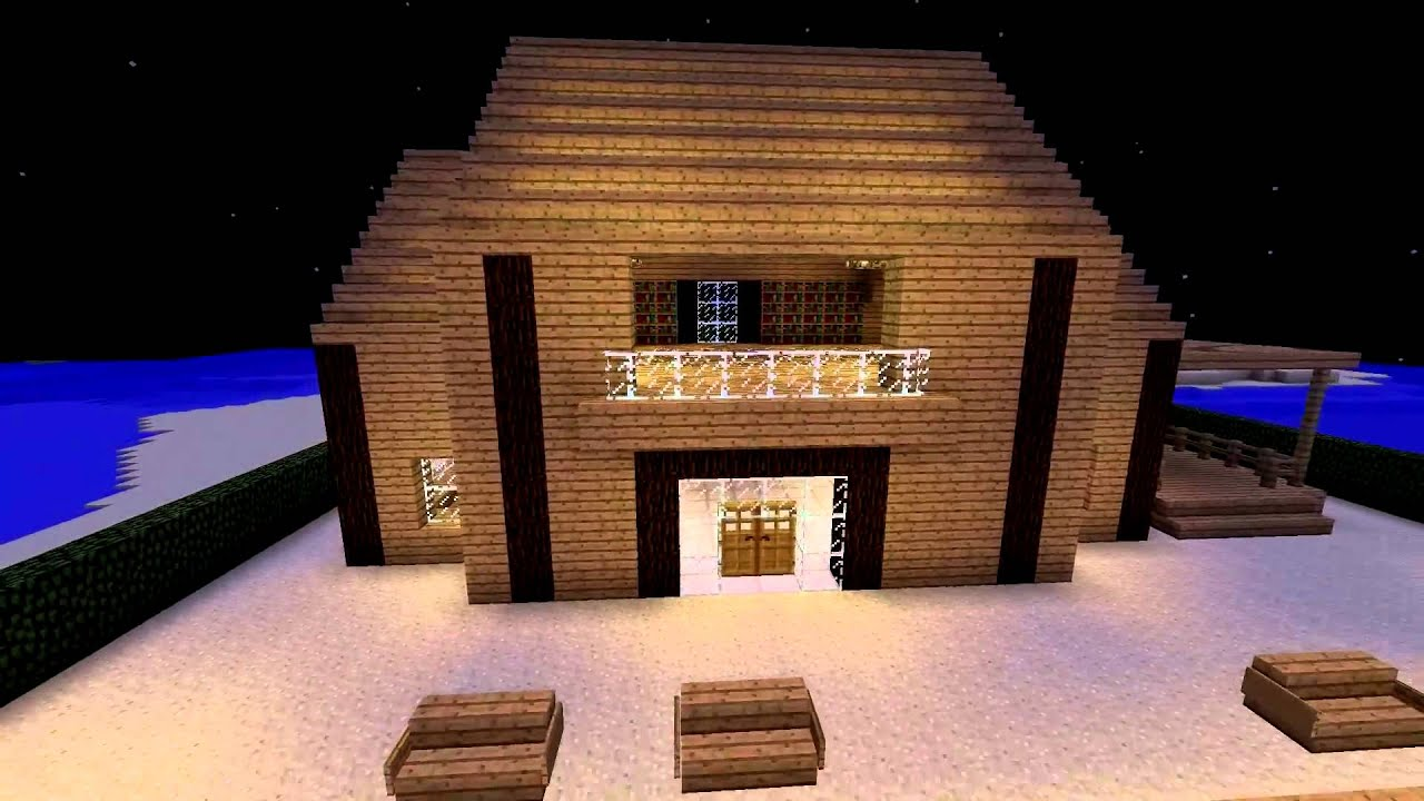 Minecraft pe modern house download link youtube for Modern house minecraft pe
