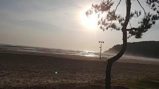 후진항 설악해변 월요일 아침풍경