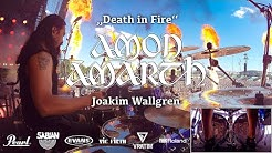 Jocke Wallgren - Amon Amarth | Death in Fire live @ Rock im Park 08/06/19 | Drumcam