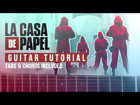 La Casa de Papel Theme Song - Tutorial Guitar Easy Lesson (FREE TABS)