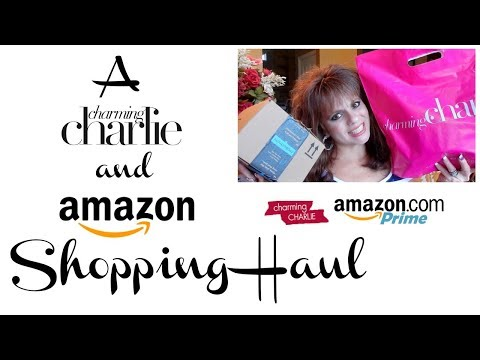CHARMING CHARLIES AND AMAZON | SHOPPING HAUL