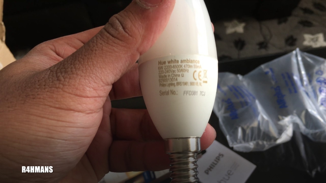 Hue Lampen E14 : Unboxing new philips hue e candle light youtube